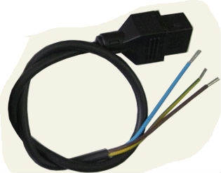 Plug / cable for coil